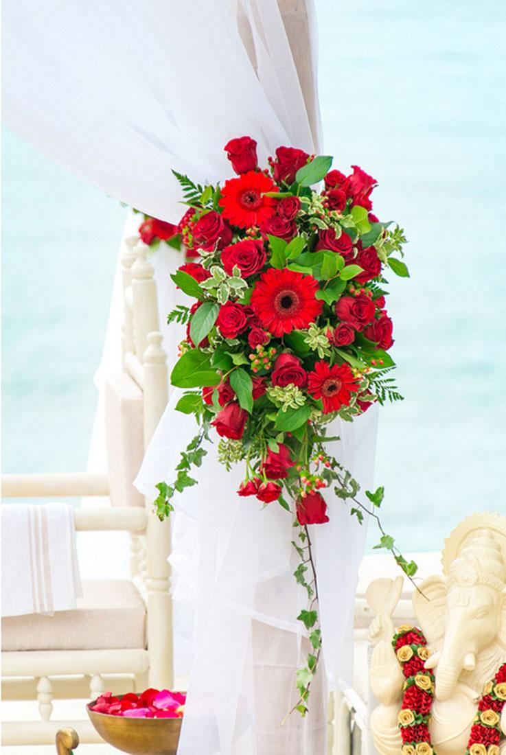 patel wedding east end flower shop st thomas virgin islands. Black Bedroom Furniture Sets. Home Design Ideas